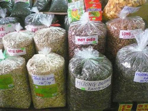hoa-quả, sấy-khô, trái-cây, hóa-chất, bảo-quản, hàng-Tàu, Trung-Quốc