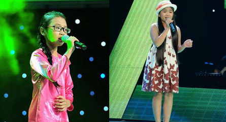 Phương Mỹ Chi, Quang Anh, Thiện Nhân, The Voice kids, VTV, truyền hình thực tế, sao nhí, showbiz, ca sĩ nổi tiếng