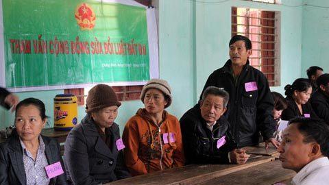 Nguyên Lâm, Tham vấn, dân chủ, lấy ý kiến nhân dân