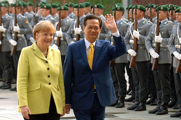 Đức ủng hộ lập trường VN về Biển Đông