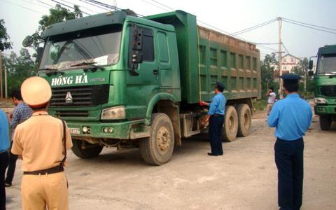xe quá tải; đặc chủng