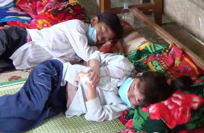 Nhiều trẻ em ở 'bệnh viện dã chiến' đã khỏi bệnh sởi