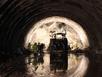 Cận cảnh khoan thông đường hầm xuyên đèo Cổ Mã