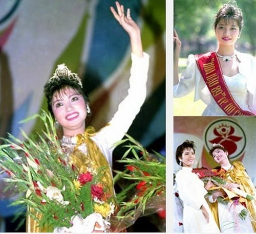 HH Lý Thu Thảo lộ diện sau 25 năm đăng quang