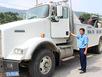 Hình ảnh xe đặc chủng 13 tỷ 'bắt' xe quá tải