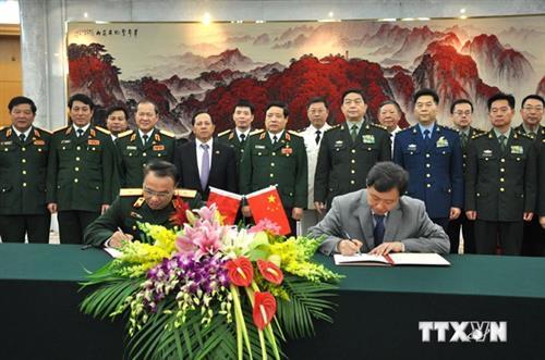 Quân đội Việt-Trung sẽ lập đường dây liên lạc