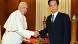 Thủ tướng hội kiến Giáo hoàng Francis