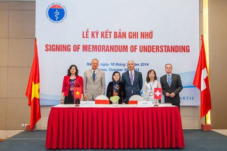 Novartis đầu tư dược phẩm ở Việt Nam