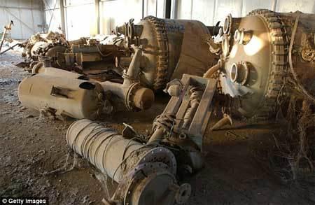 Bí mật ớn lạnh về kho chất độc rợn người ở Iraq