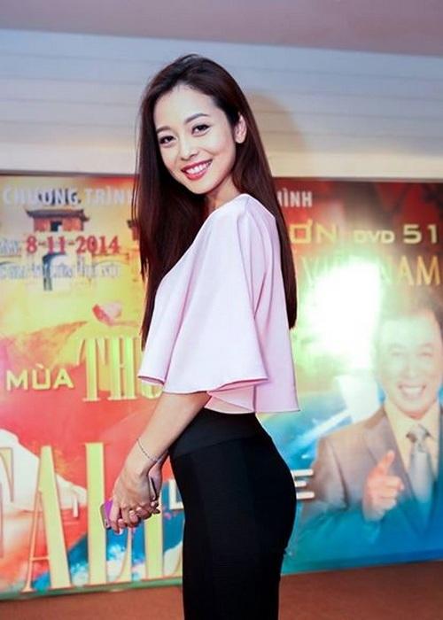 Jennifer Phạm, quần bó, nhạy cảm, tregging