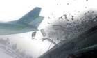 Khoảnh khắc hai máy bay quân sự đâm nhau giữa trời
