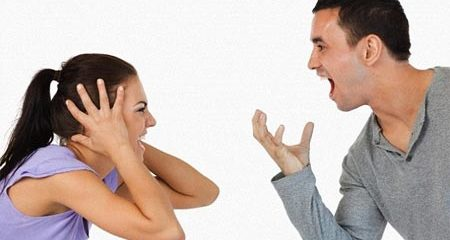 Cãi nhau với bạn đời dễ gây béo phì