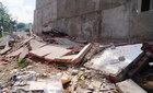 Khám nghiệm nhà 4 tầng vừa xây xong đã đổ sập