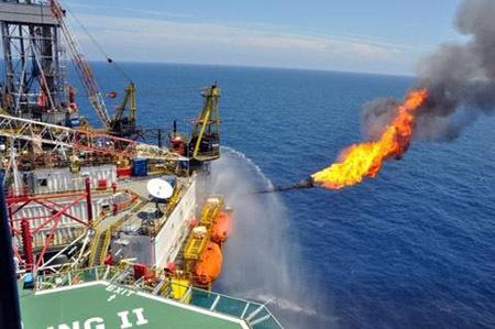 Mỹ khai thác khí đốt trên biển đông