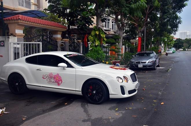Chuyển cả dàn siêu xe Sài Gòn ra Bình Định rước dâu