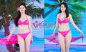 Ngắm các thí sinh hoa hậu gợi cảm với bikini