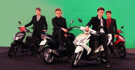 Nhóm 365 xuất quân cùng chiến dịch xe tay ga Yamaha
