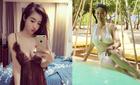 Hà Kiều Anh diện bikini, Bà Tưng gợi cảm không ngờ