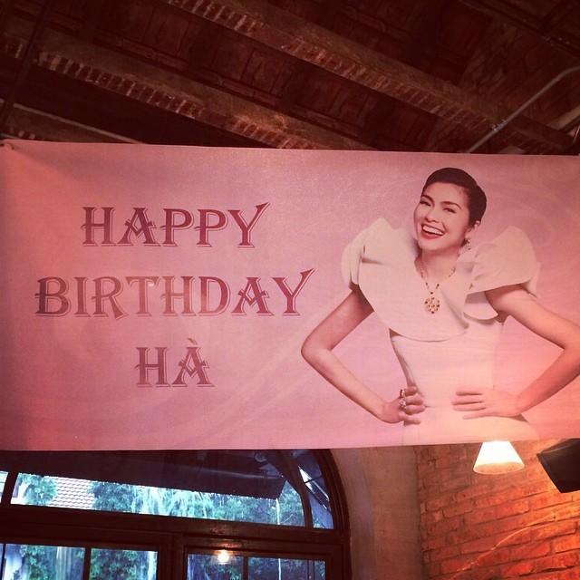Rò rỉ ảnh hiếm tiệc sinh nhật của Tăng Thanh Hà