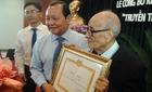 GS Vũ Khiêu đạt giải cao nhất về sáng tác văn bia cách mạng
