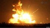 Tên lửa NASA nổ tung sau khi rời bệ phóng