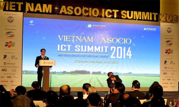 ASOCIO - ICT Summit 2014, Phó Thủ tướng Vũ Đức Đam, mạng xã hội, di động, đám mây, điện toán