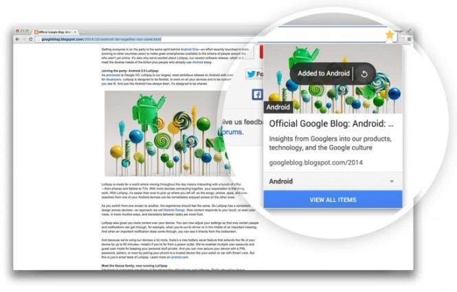 Google giới thiệu công cụ bookmark mới cho Chrome