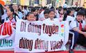 Hàng ngàn học sinh TPHCM hưởng ứng đi bộ an toàn