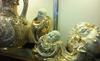 Dân giàu Hà Nội phát sốt đồ gốm vẽ vàng