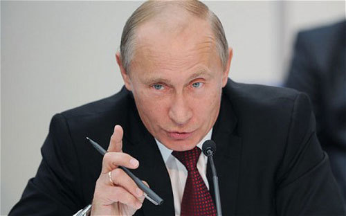 Nga, Putin, TQ