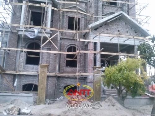 Đại gia Điện Biên về Hà Nội xây lâu đài