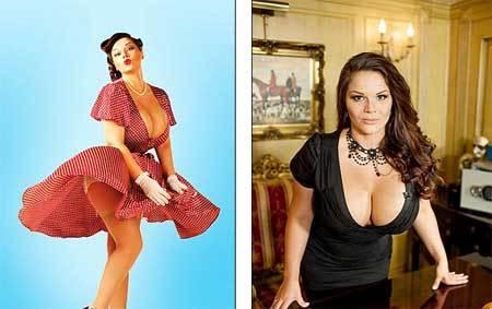 Nga, Ukraina khẩu chiến về người đẹp ngực khủng