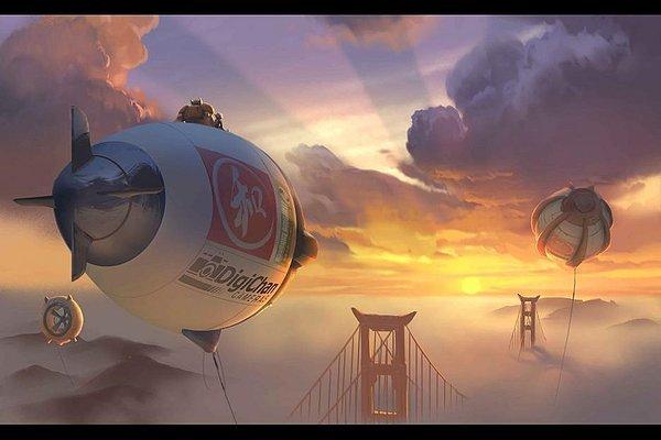 Big Hero 6, Biệt đội siêu anh hùng, Disney, Marvel
