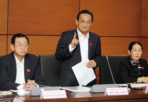 luật bầu cử, HĐND, Trương Trọng Nghĩa, Trần Du Lịch, Võ Thị Dung