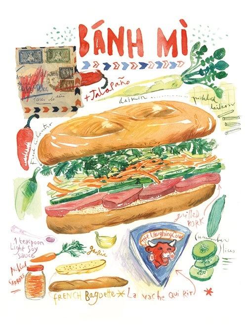 bánh-mì, Việt-Nam, cơn-sốt, toàn-thế-giới, nổi-tiếng, vang-danh, đường-phố, cư-dân-mạng