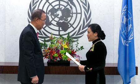 Nữ Thứ trưởng Ngoại giao VN làm Đại sứ tại LHQ