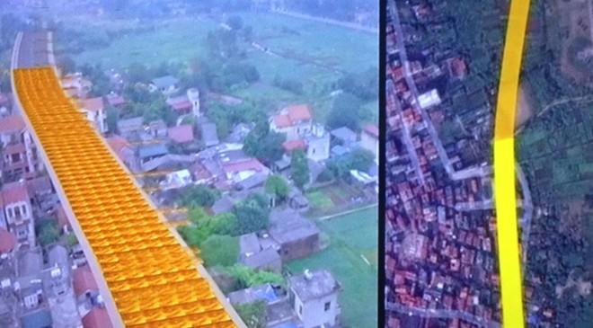đường cong, dát vàng, Long Biên, Lâm Du, Bồ Đề, khu dân cư, nắn thẳng