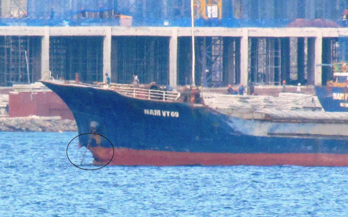 Chỉ vài phút tàu Phúc Xuân 68 bị chìm trên biển