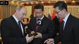 Putin tặng Chủ tịch TQ điện thoại xịn, độc