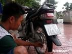 Hà Nội: Kẻ gian trộm xe của phóng viên đang tác nghiệp