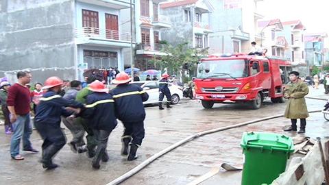 Vụ cháy quán hát khiến 4 người chết là do chập điện