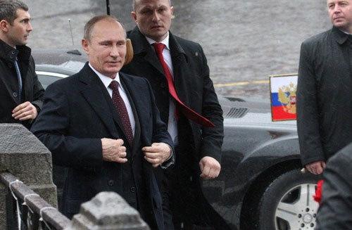 Đội vệ sĩ của Putin