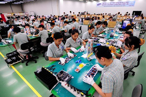 Samsung, Thái Nguyên, Bộ TT&TT, nhà máy