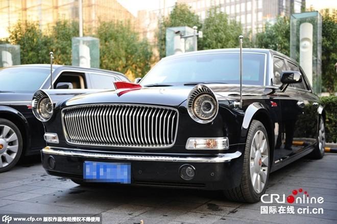 'Rolls-Royce' chống đạn Trung Quốc bảo vệ lãnh đạo APEC
