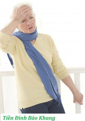 Rối loạn tiền đình- nguyên nhân chóng mặt ở người cao tuổi