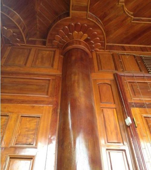 Nhà gỗ tiền tỷ của đại gia buôn vàng Hà Tĩnh