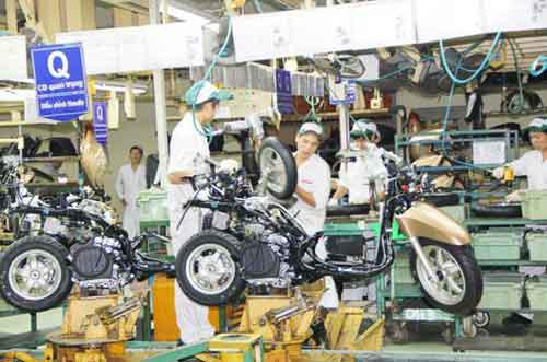 xe-máy, xuất-khẩu, thị-trường, sản-xuất, DN, công-suất, Việt-Nam, sản-lượng, kim-ngạch.