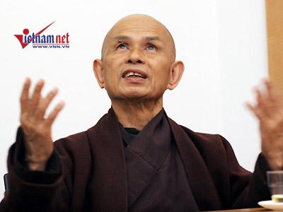 """Thiền sư Thích Nhất Hạnh: """"Thầy hạnh phúc thì trò hạnh phúc"""""""