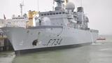 Tuần dương hạm Pháp cập cảng Đà Nẵng