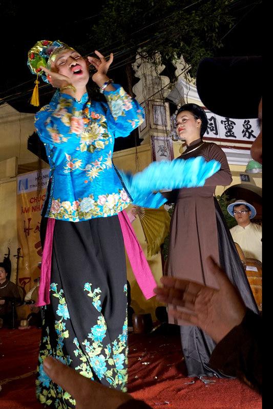 Phố cổ, Hà Nội, âm nhạc đường phố